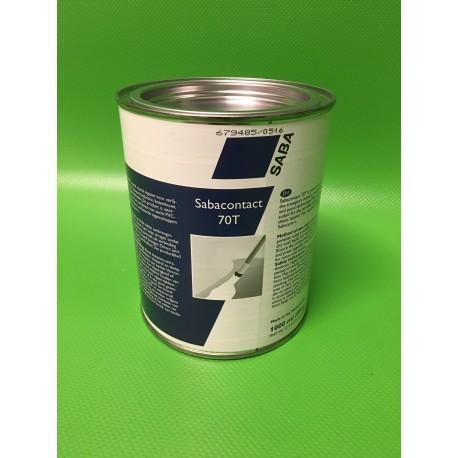 PVC-Kleber - Sabaplast 70T - Kontaktkleber - LKW-Planen - Kleber 1L