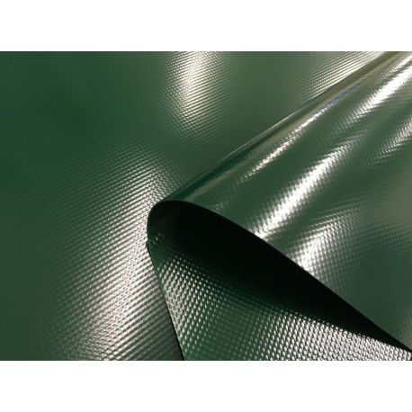 LKW-Plane, Gewebeplane: 3,00m breit -- Grün -- ca. 900g/m² -- Top Qualität