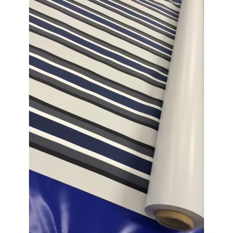 Gewebe LKW-Plane: 1,62m breit - Valmex Solera Blau - ca.700g/m² - Vorzeltplane
